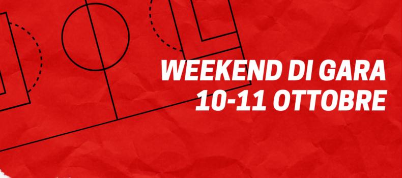 WEEKEND DI GARA | 10-11 OTTOBRE